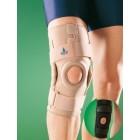 Ортопедический коленный ортез с боковыми шинами